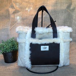 UGG Sheepskin suede Grab Bag Tote/purse